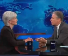 Daily Show_Sebelius screen shot