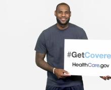LeBron James Obamacare