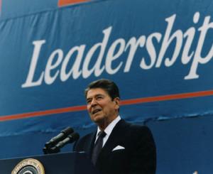 President_Reagan_giving_Campaign_speech_in_Austin,_Texas_1984