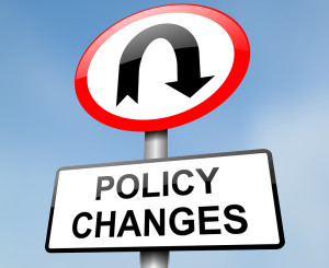Policy Change.