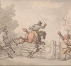 Thomas_Rowlandson_-_Evading_the_Toll_-_Google_Art_Project