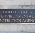 Washington, DC, USA - May 5, 2011: United States Environmental Protection Agency (EPA) sign at the headquarters building in Washington, DC.