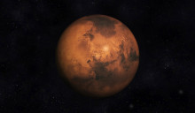 Digital 3D Illustration of the Planet Mars